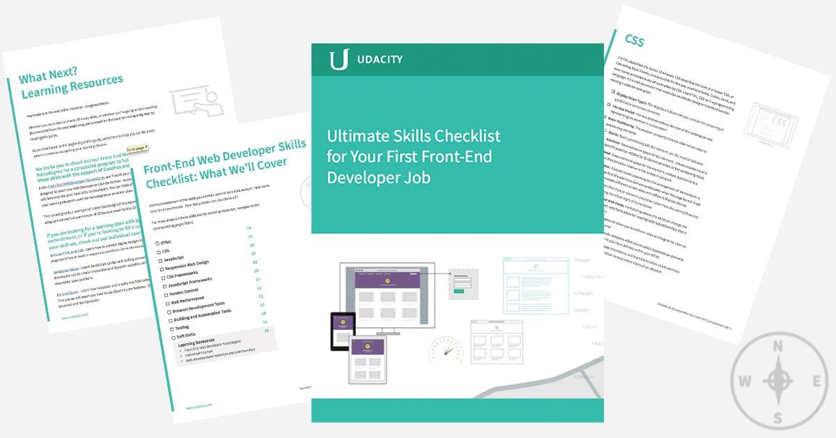 Front-End Web Developer Skills Checklist: Free E-guide