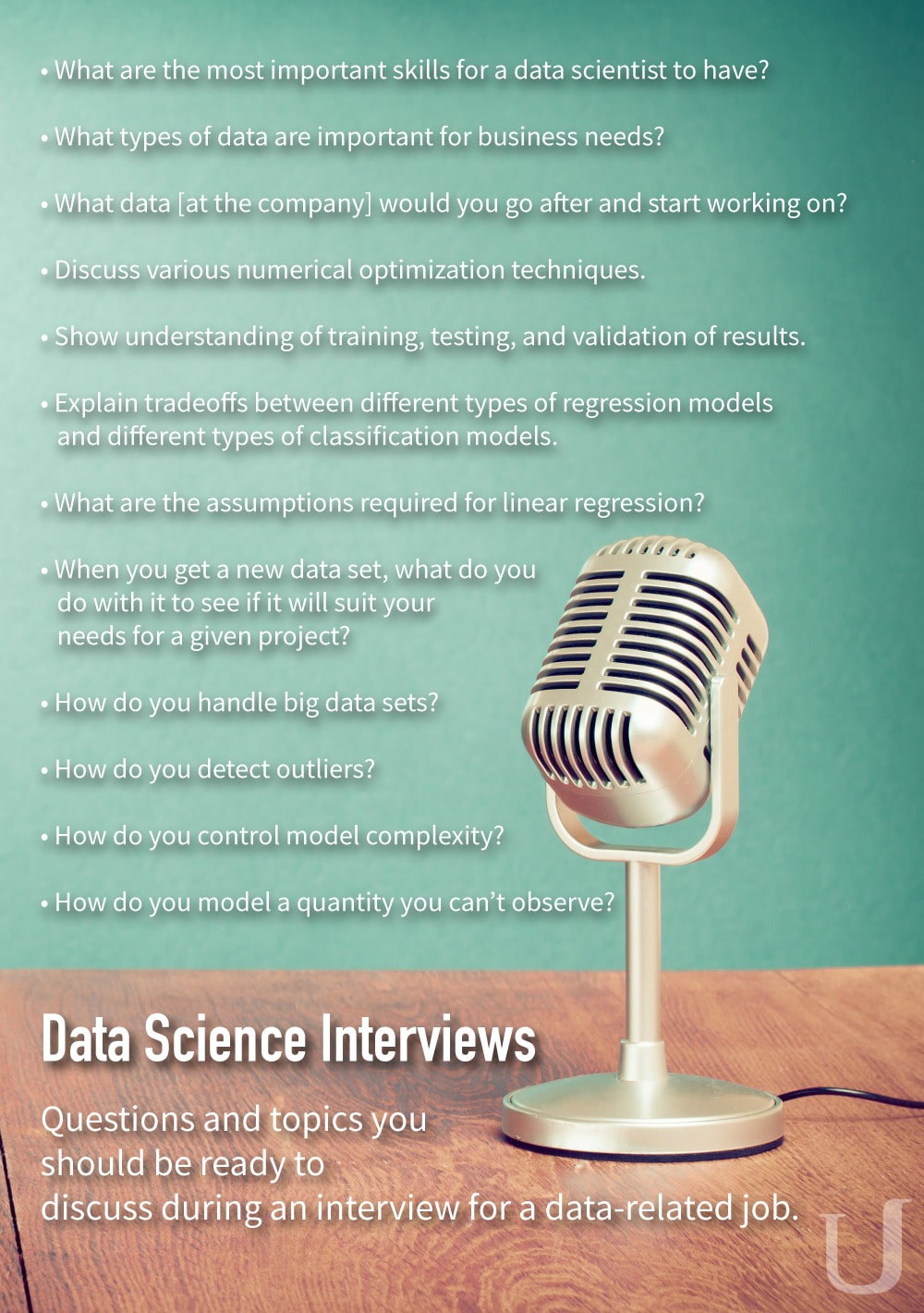 questions from data science interviews