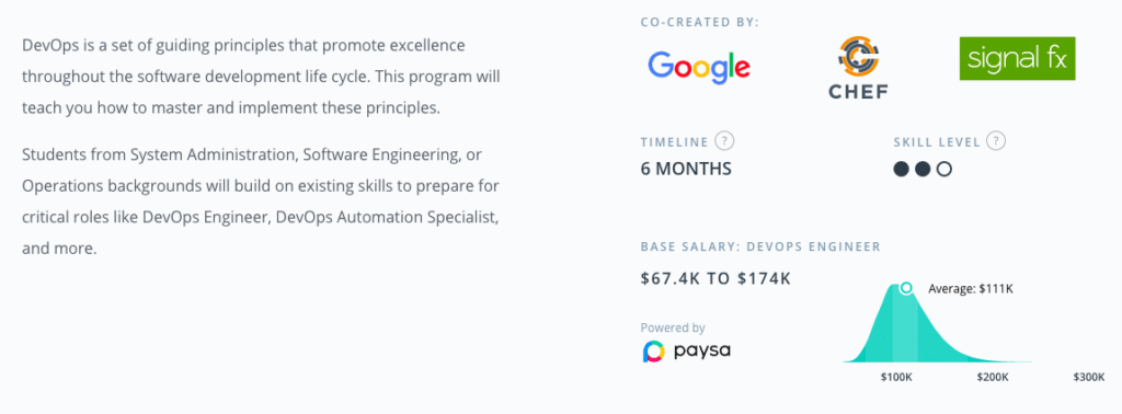 Udacity, Paysa, Career Opportunities