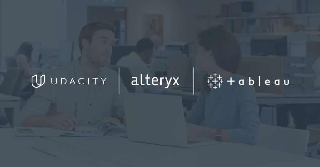 Udacity Business Analyst Nanodegree program - Udacity, Alteryx, Tableau
