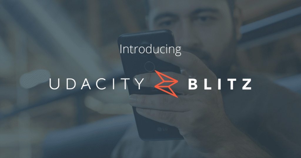 Introducing Udacity Blitz