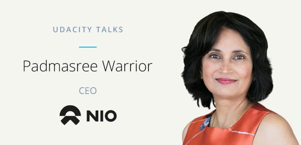 Padmasree Warrior Udacity Talks