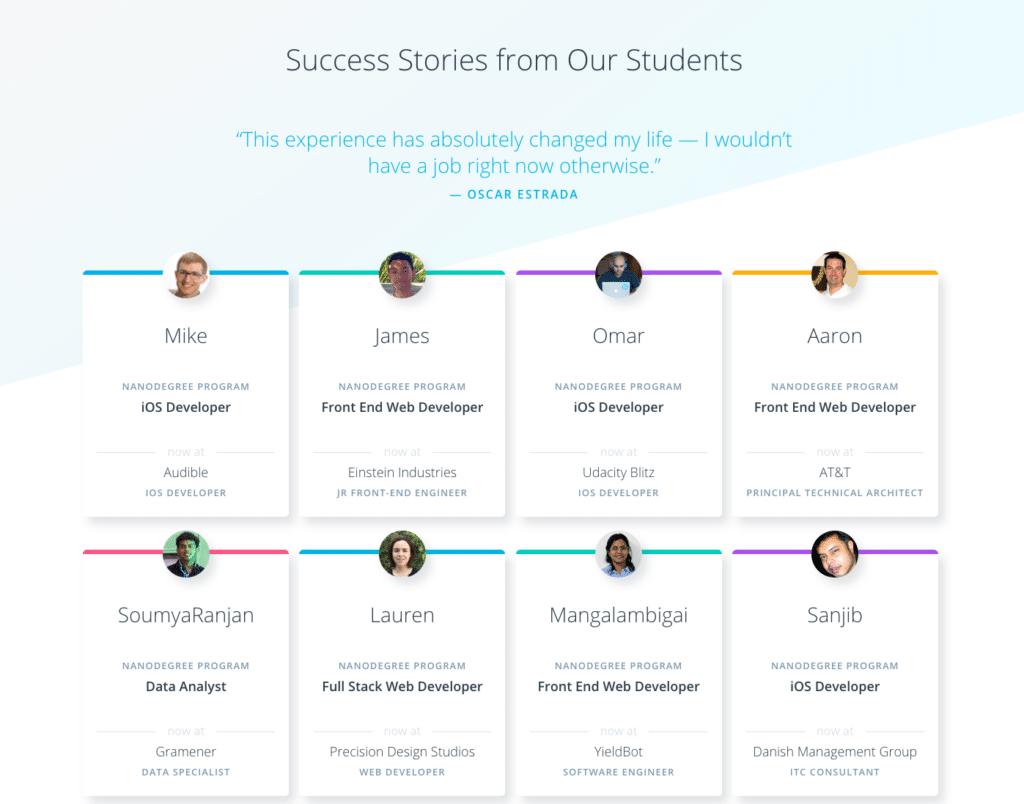 Udacity Student Success