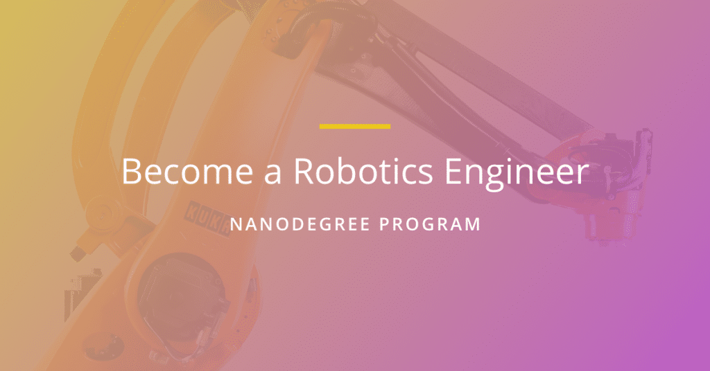 Robotics Nanodegree program