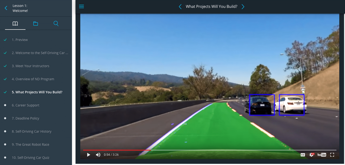 Self-Driving Car Sneak Preview - Project