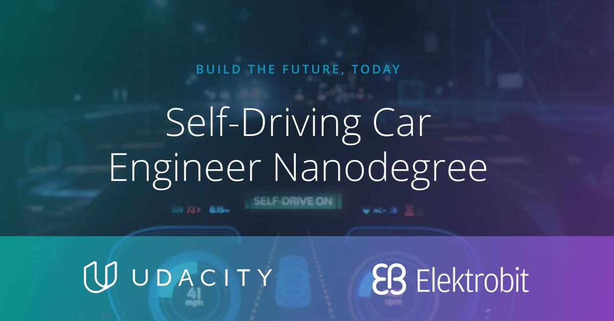 Self Driving Car Nanodegree Curriculum