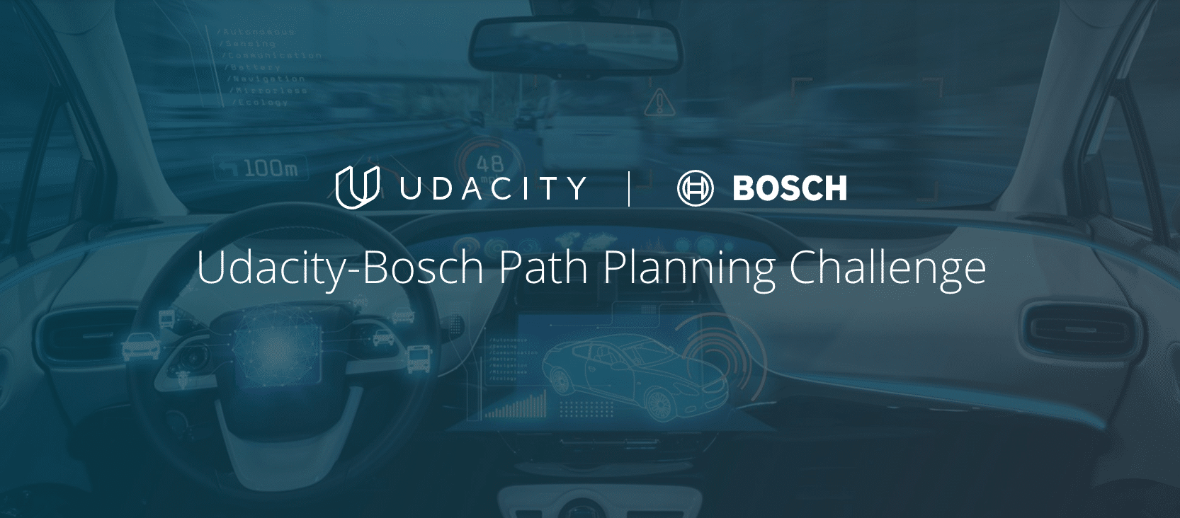 Udacity Bosch - Path Planning Challenge - Self Driving Car