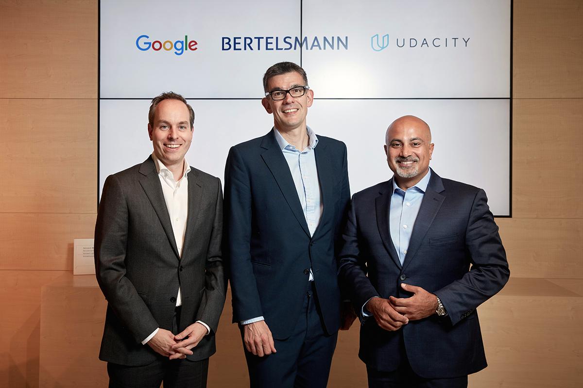 Udacity - Bertelsmann - Google - Digital Skills Award