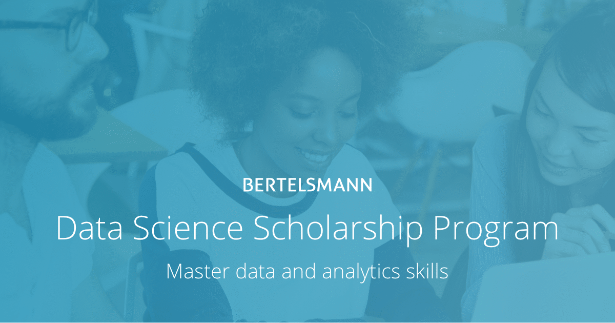 bertelsmann - udacity - data science scholarships