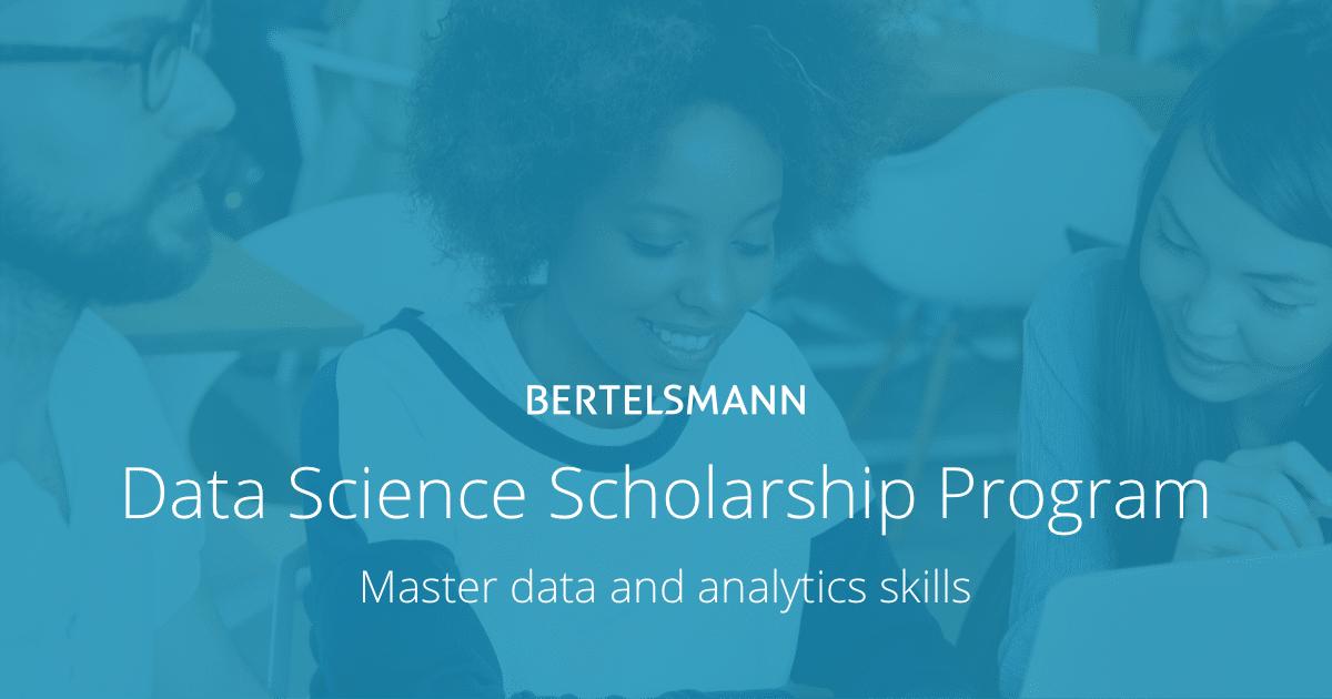 Bertelsmann Announces 15,000 Data Science Scholarships   Udacity
