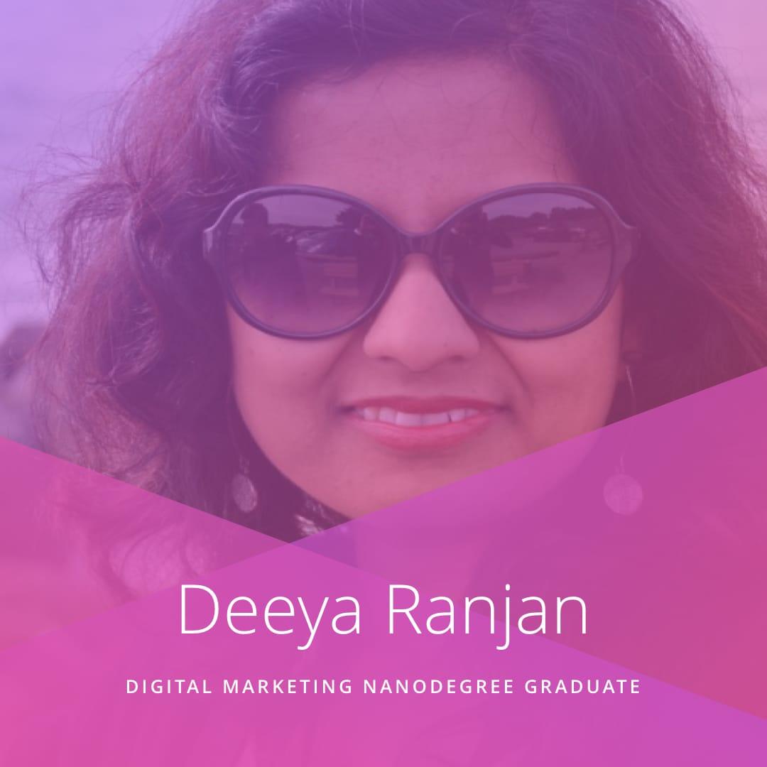 International Women's Day - Udacity - Deeya Ranjan