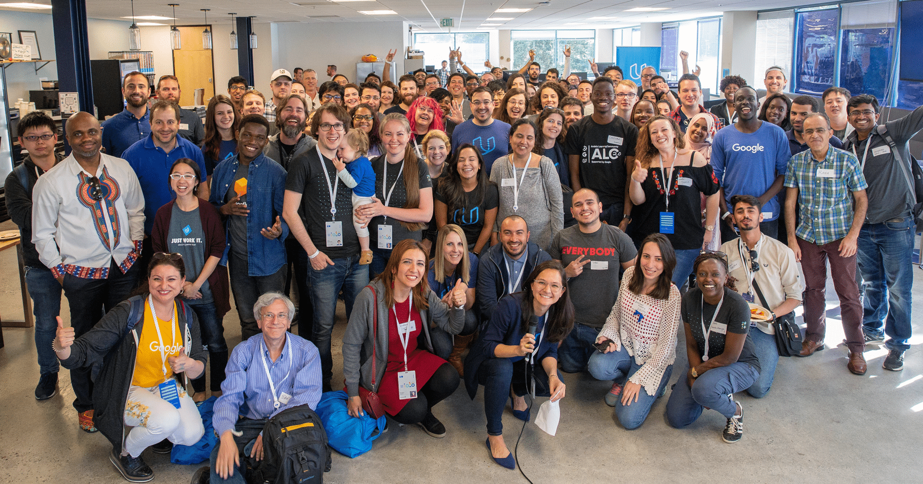 Grow with Google scholars at Udacity HQ