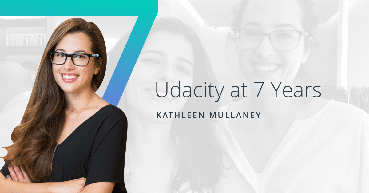 Udacity - Seven years of student success