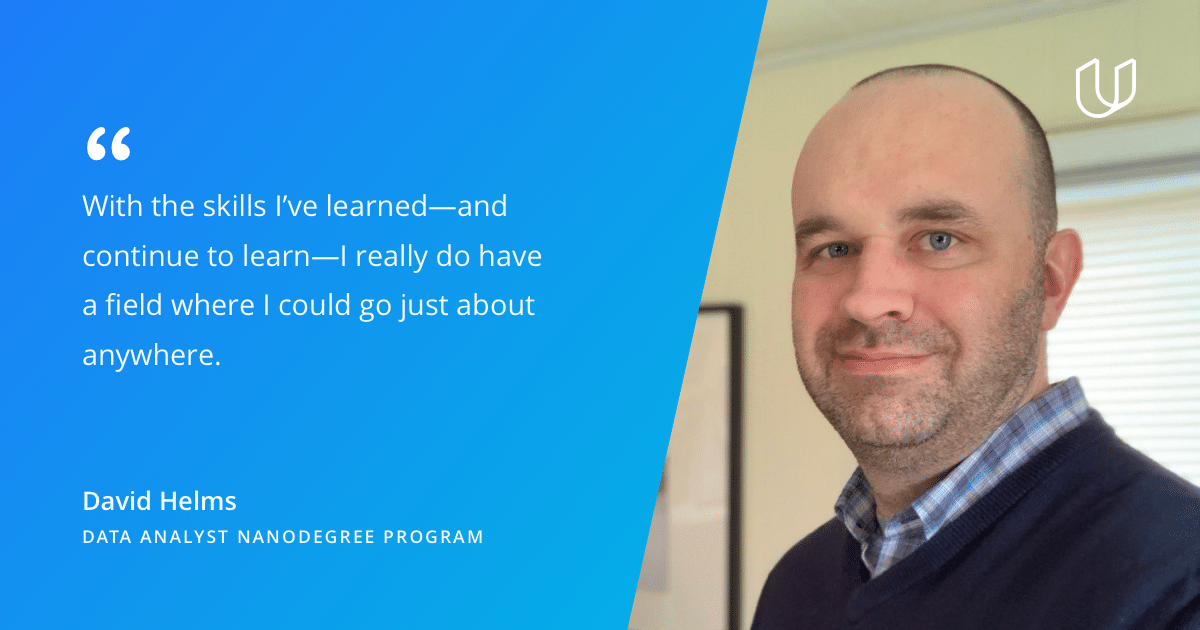 Udacity student quote about data analyst program