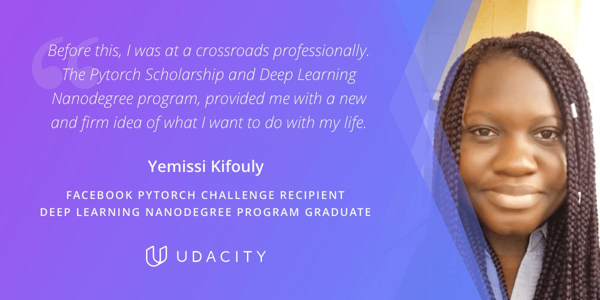 Yemissi Udacity Graduate Deep Learning Engineer Facebook Scholar
