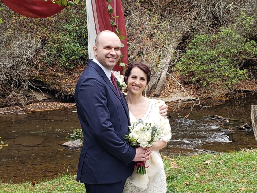 David Helms with his wife